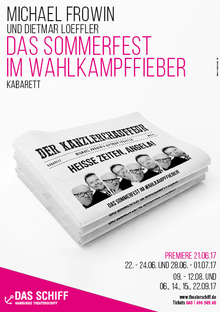 Poster Heisse Zeiten, Angela