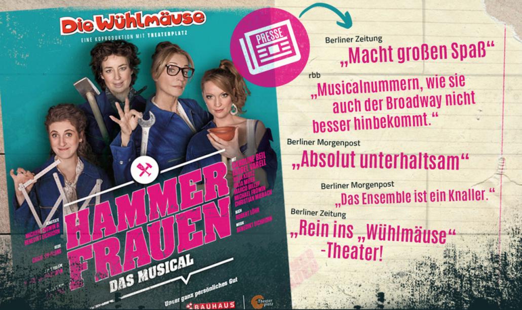 Hammerfrauen-das Musical
